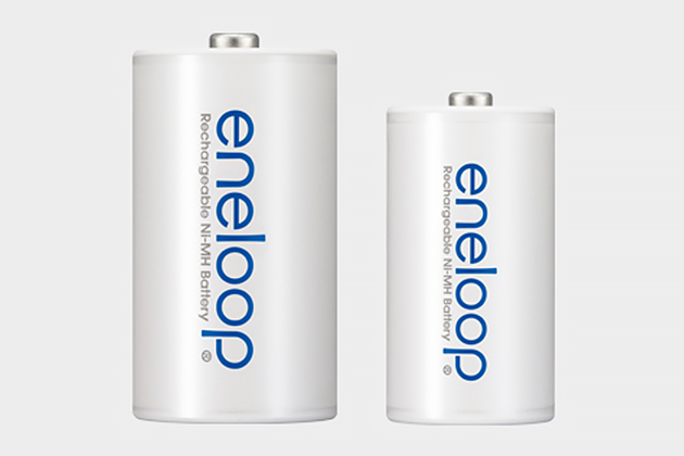 eneloop D and C size